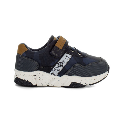 Zane Sneakers in Navy Camo from Surefit