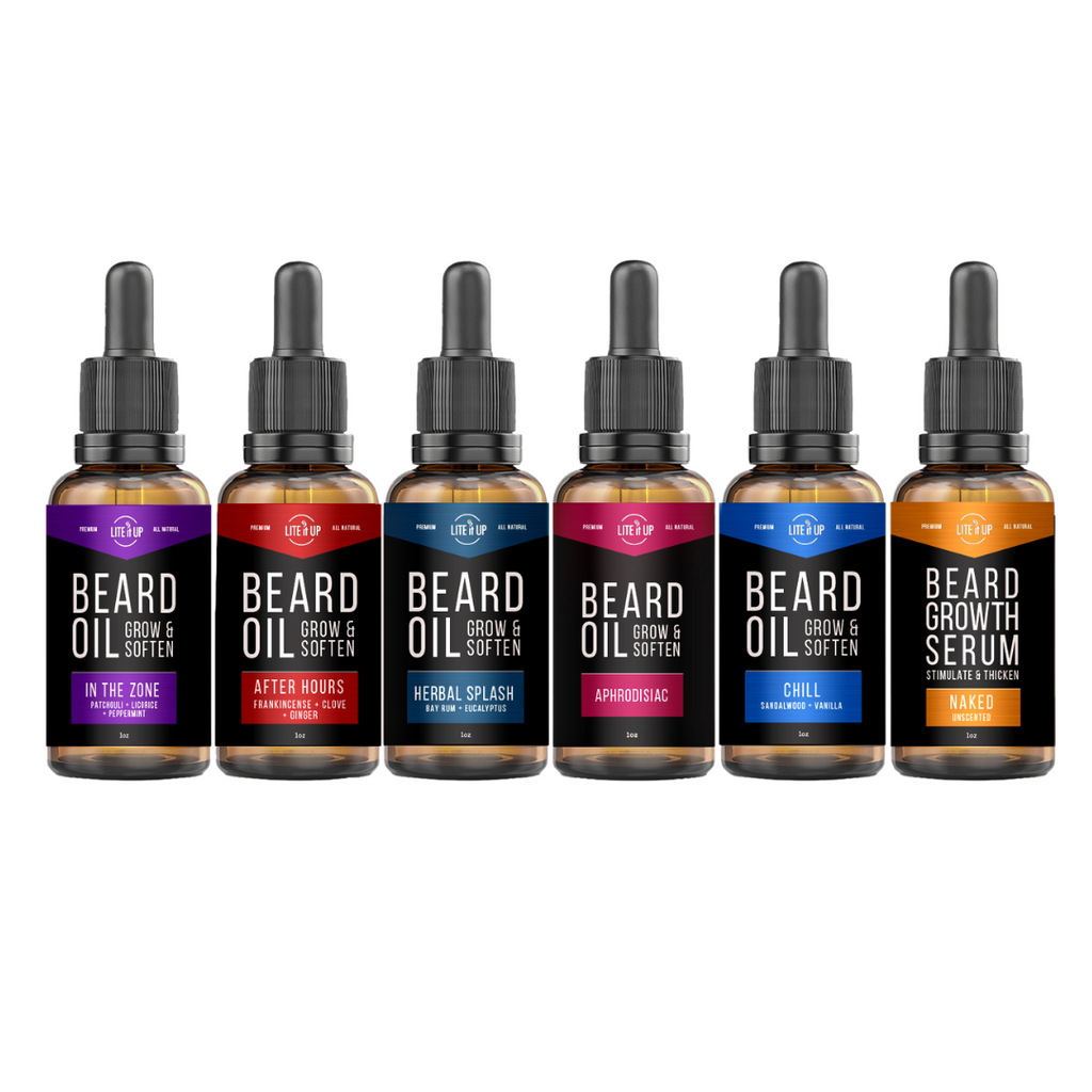 Lite It Up The 6ix BEARD OIL Gift Pack 2.0