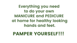 PAMPER ME! Manicure + Pedicure DIY KIT