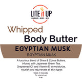 Lite It Up EGYPTIAN MUSK WHIPPED BODY BUTTER *Limited*
