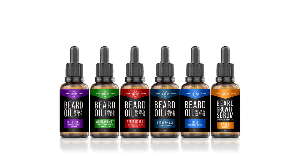 Lite It Up BEARD OIL -  [IN THE ZONE]