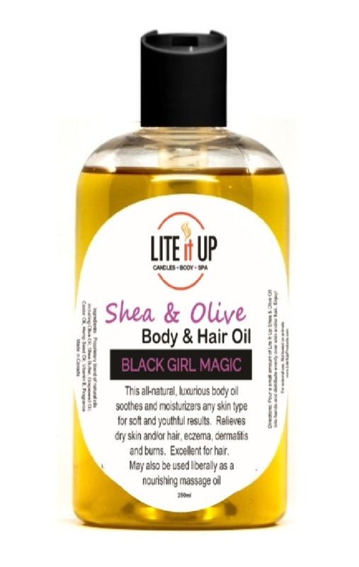 Lite It Up BLACK GIRL MAGIC Gift Set