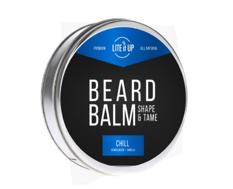 BEARD BALM CHILL - SANDALWOOD + VANILLA