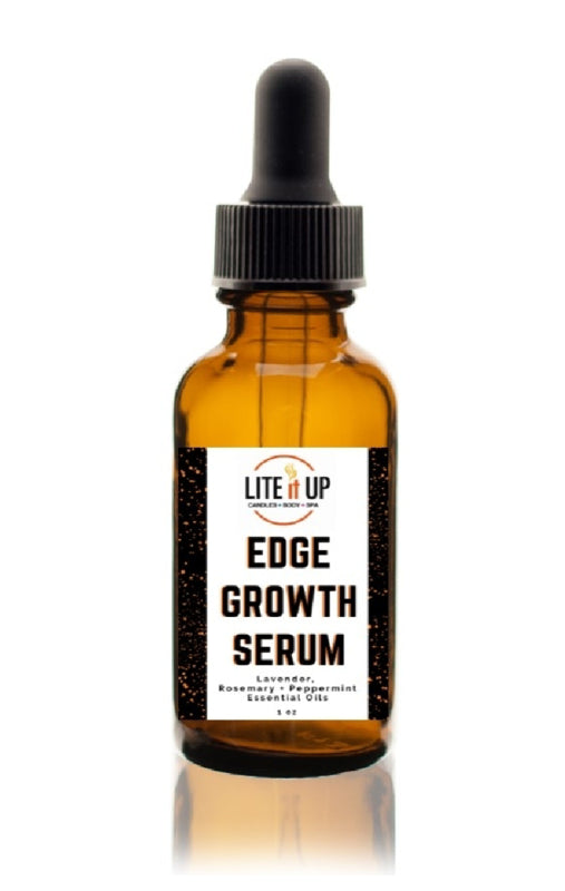 Lite It Up EDGE GROWTH SERUM w/ Essential Oils