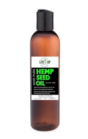 Lite It Up 100% HEMP SEED OIL