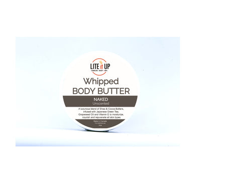 NAKED Whipped Body Butter - UNSCENTED