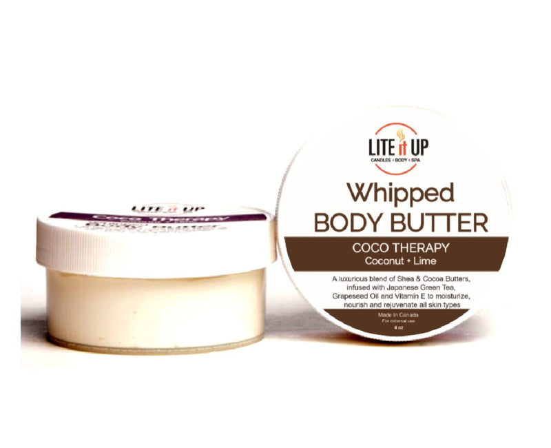 Lite It Up COCO THERAPY Whipped Body Butter