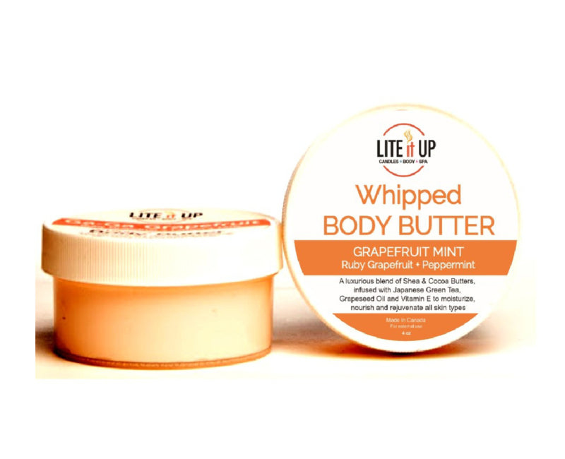 Lite It Up GRAPEFRUIT MINT Whipped Body Butter