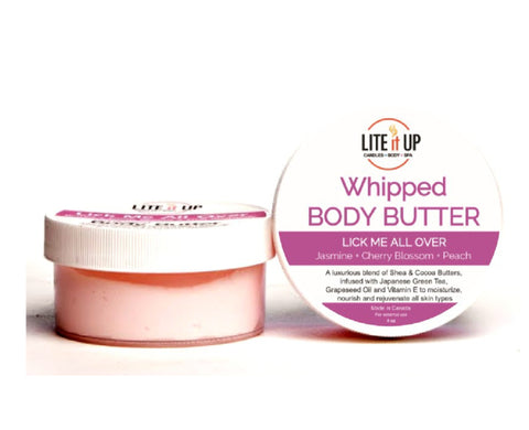 LICK ME ALL OVER Whipped Body Butter
