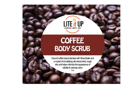Lite It Up COFFEE BODY SCRUB