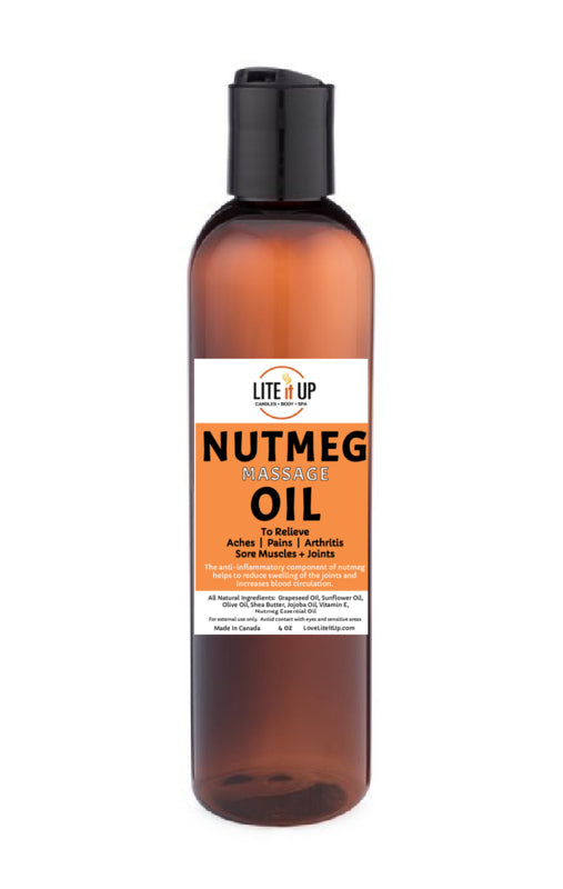 NUTMEG MASSAGE OIL