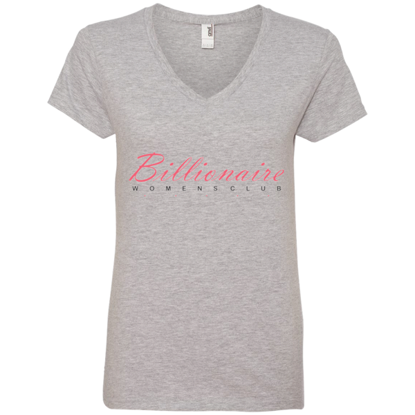 Billionaire Women's Club V-neck T-shirt - The Dressed Entrepreneur