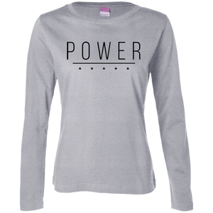 POWER Women's Long Sleeve - The Dressed Entrepreneur