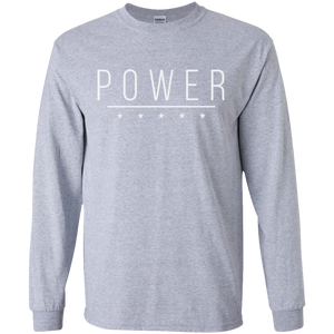 POWER Men's Long Sleeve - The Dressed Entrepreneur