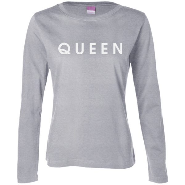 QUEEN Women's Long Sleeve - The Dressed Entrepreneur