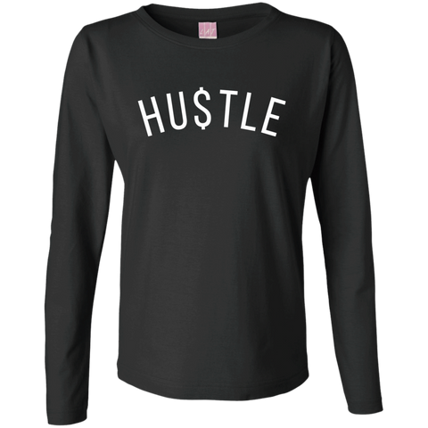 HUSTLE Women's Long Sleeve - The Dressed Entrepreneur