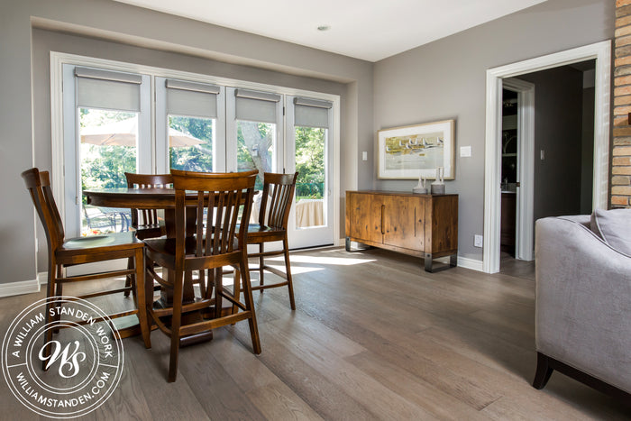 Brushed Oak Engineered Hardwood Floor