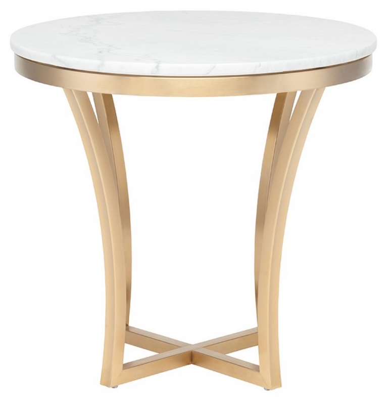 Athena Side Table Gold