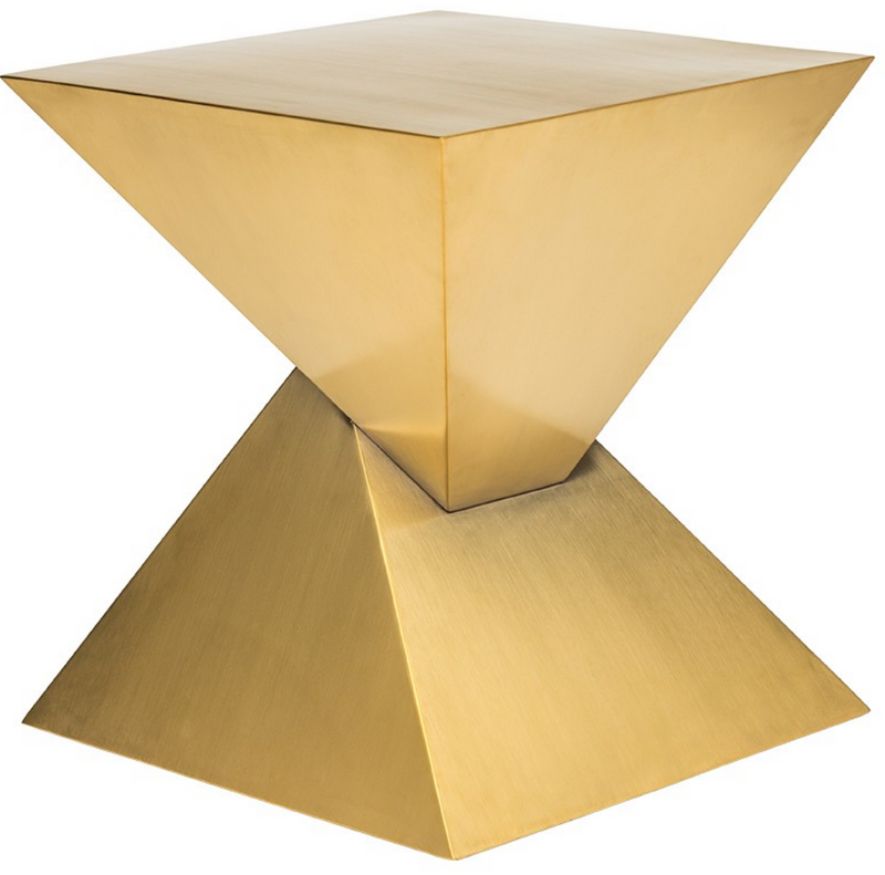 Bia Side Table Gold