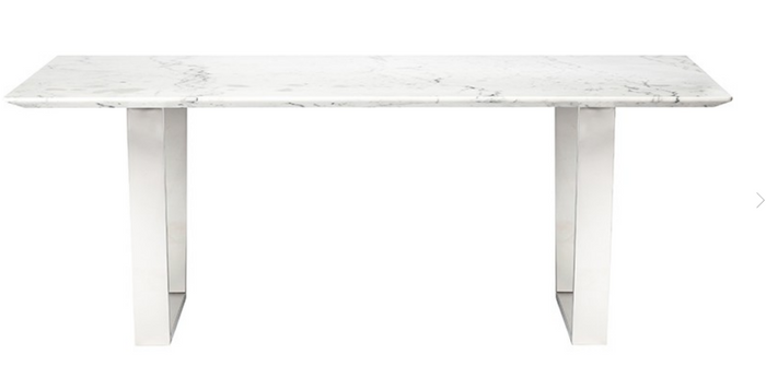 Brizo Dining Table Silver