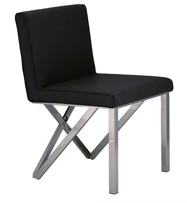 Euro Black Dining Chair