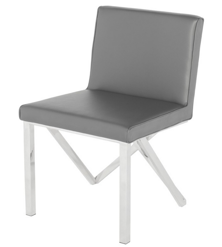 Euro Grey Dining Chair