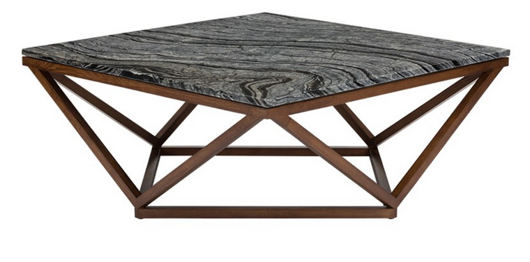 Hera Coffee Table Black & Wood