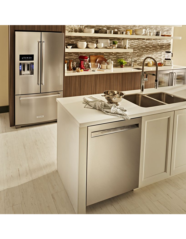 KitchenAid 46 DBA Dishwasher with ProWash™ Cycle and PrintShield™ Finish