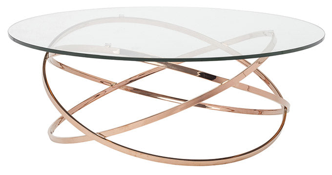Maia Coffee Table Rose Gold