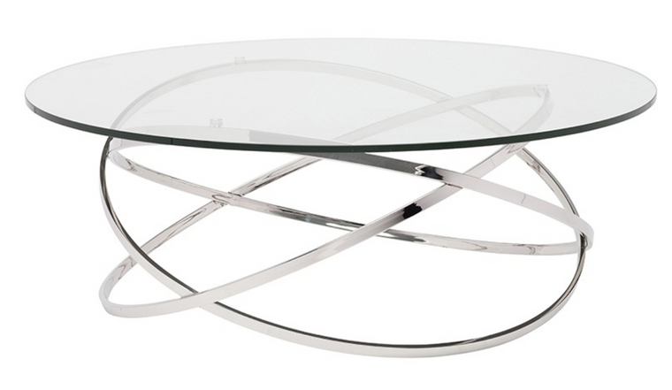 Maia Coffee Table Chrome
