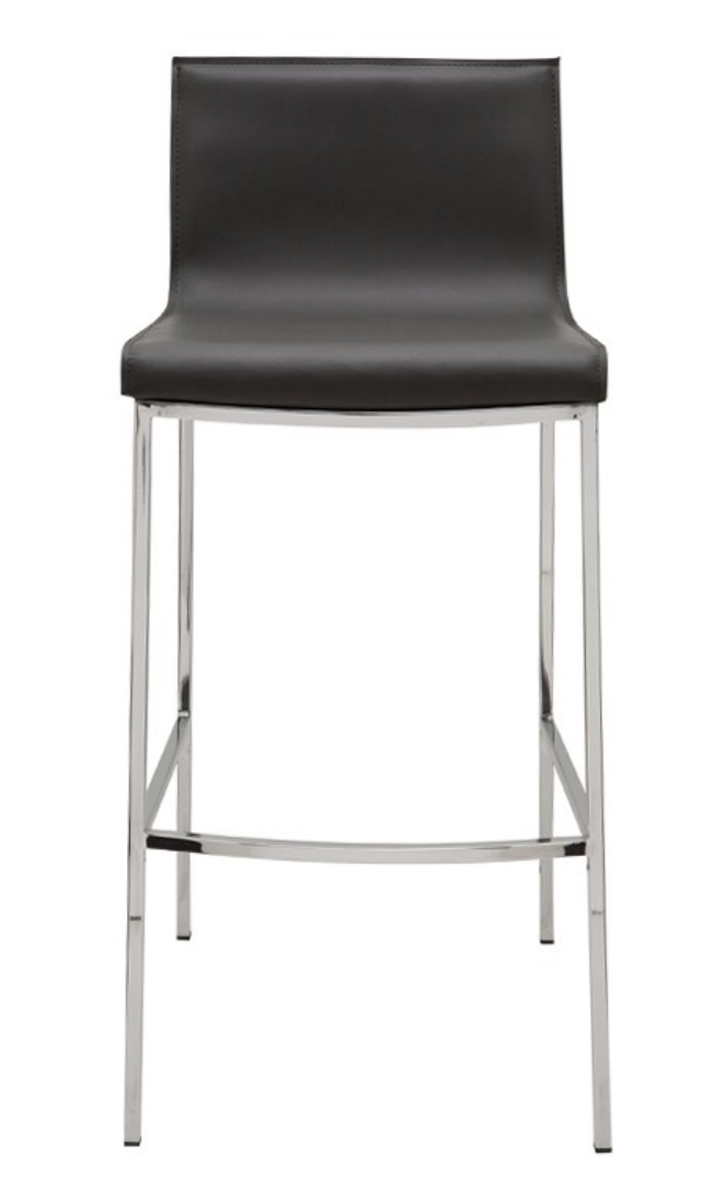 Modern Grey Counter Stool