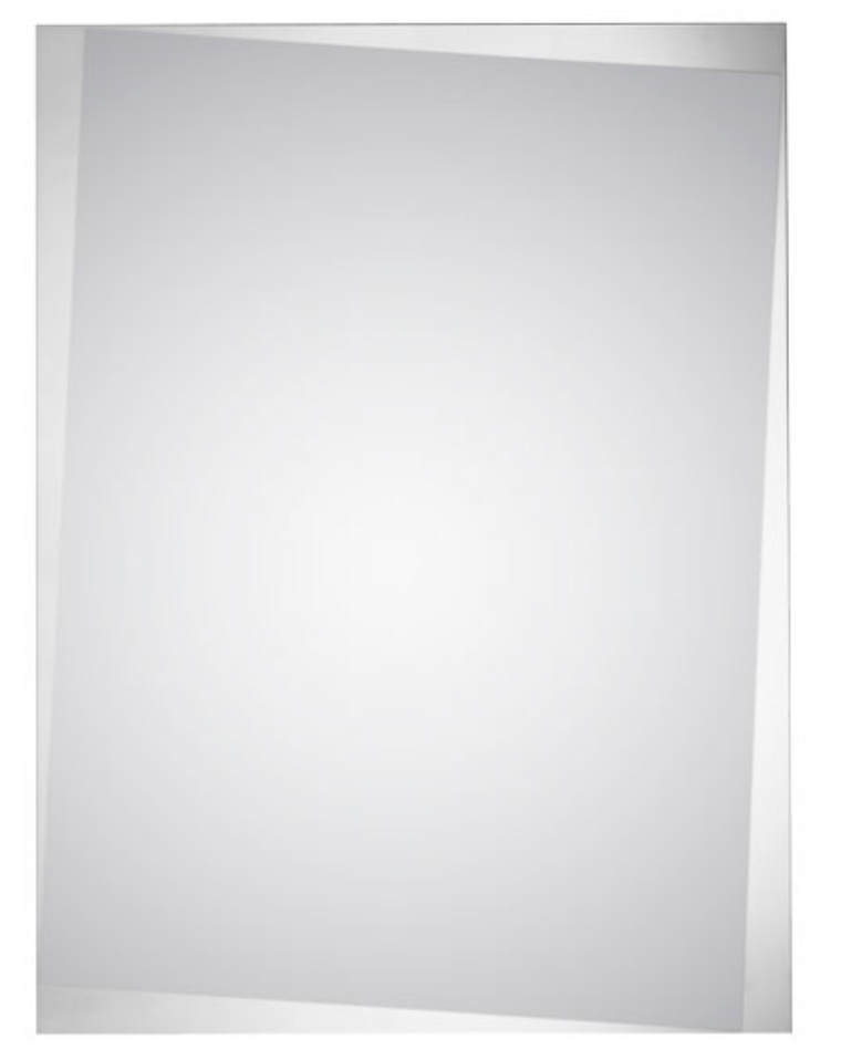 Off Angle Bevel Frame Mirror