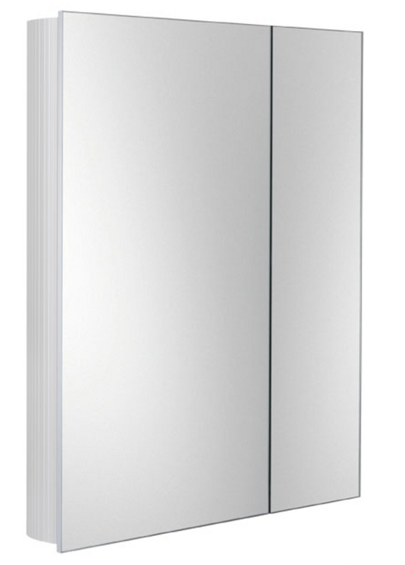 Qurios Double Door Mirrored Cabinet