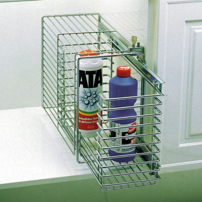 Secure Pull-Out Storage