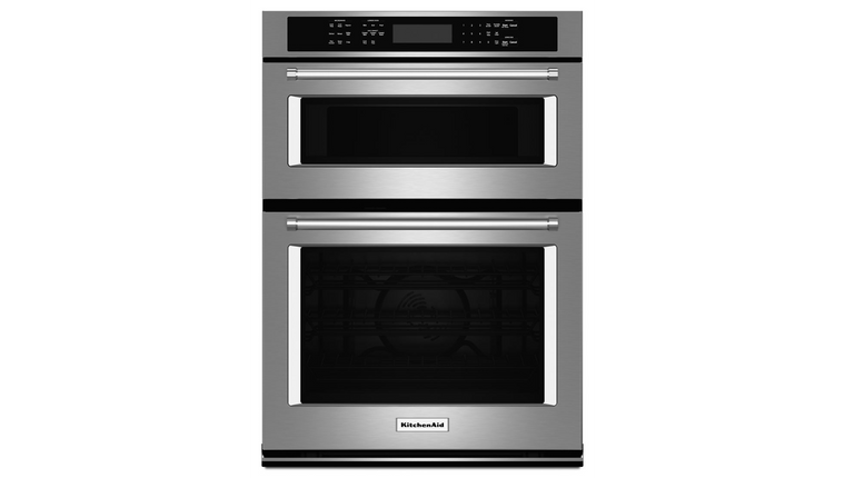 "KitchenAid 27"" Combination Wall Oven with Even-Heat™ True Convection"