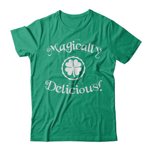 Magically Delicious Green Irish T Shirts and Hoodies by IrishMax