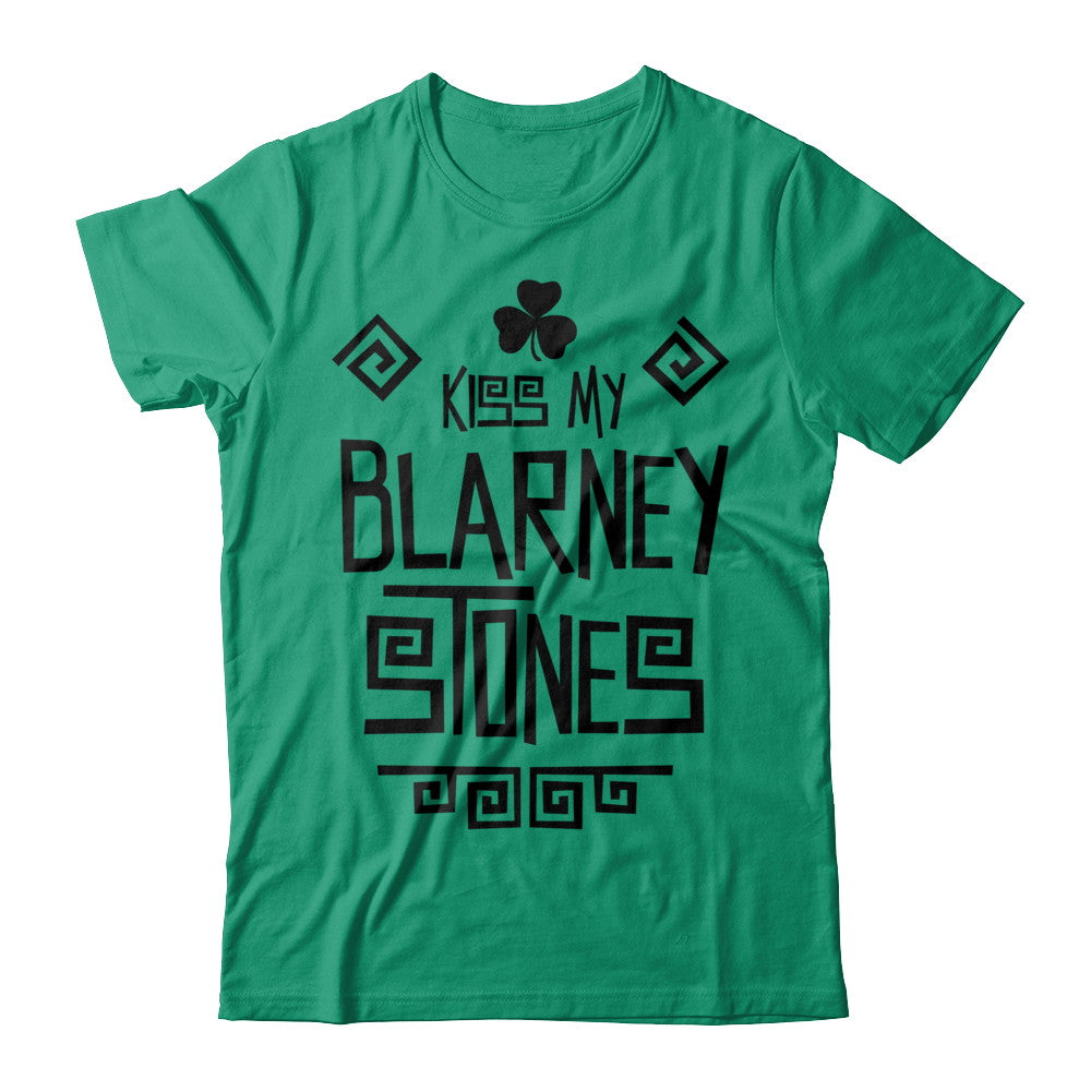 Kiss My Blarney Stones Green