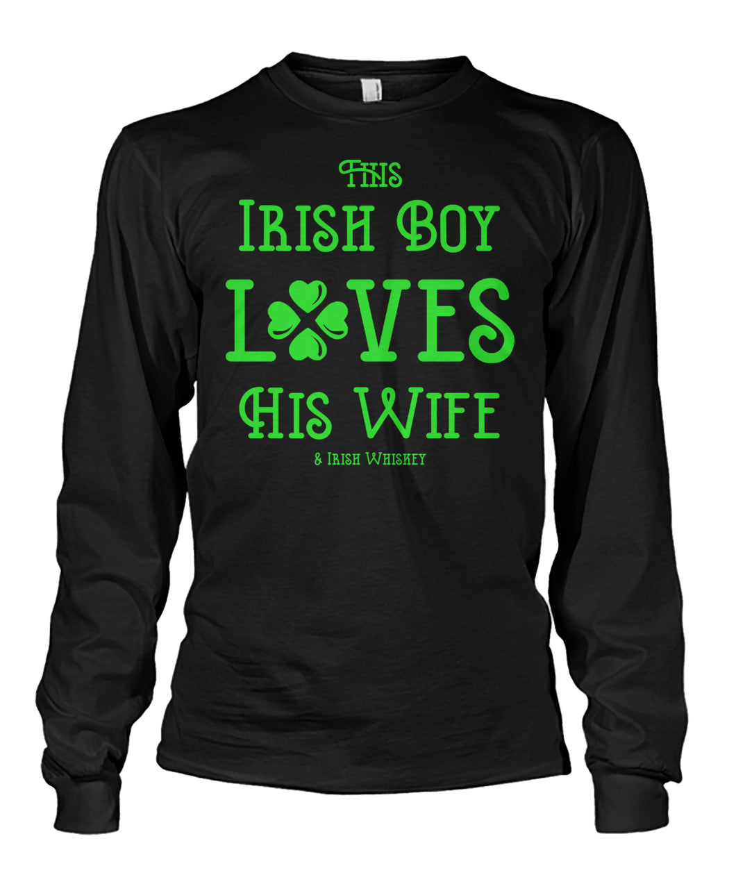 This Irish Boy Loves His Wife & Whiskey