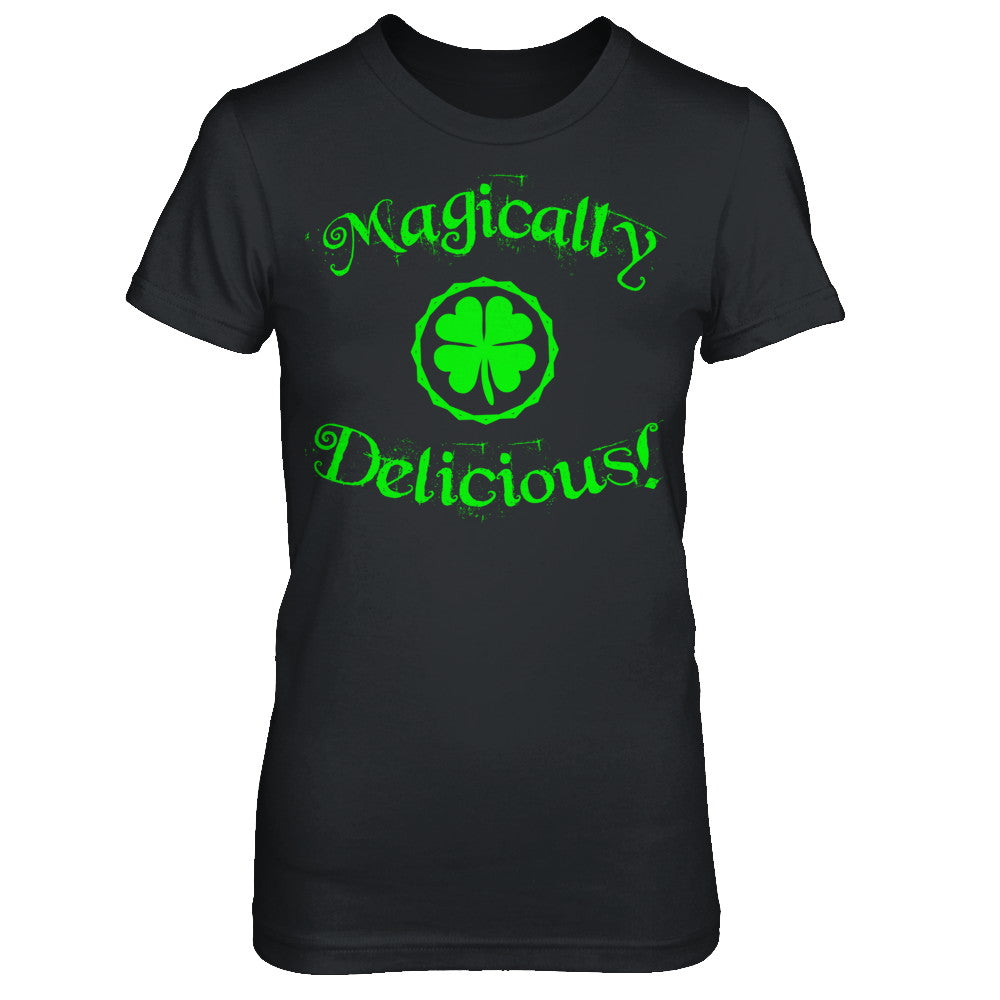 Magically Delicious Black Irish T Shirts and Hoodies by IrishMax