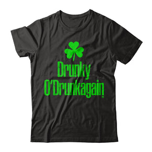 Drunky O'Drunkagain Irish T Shirts & Hoodies by IrishMax