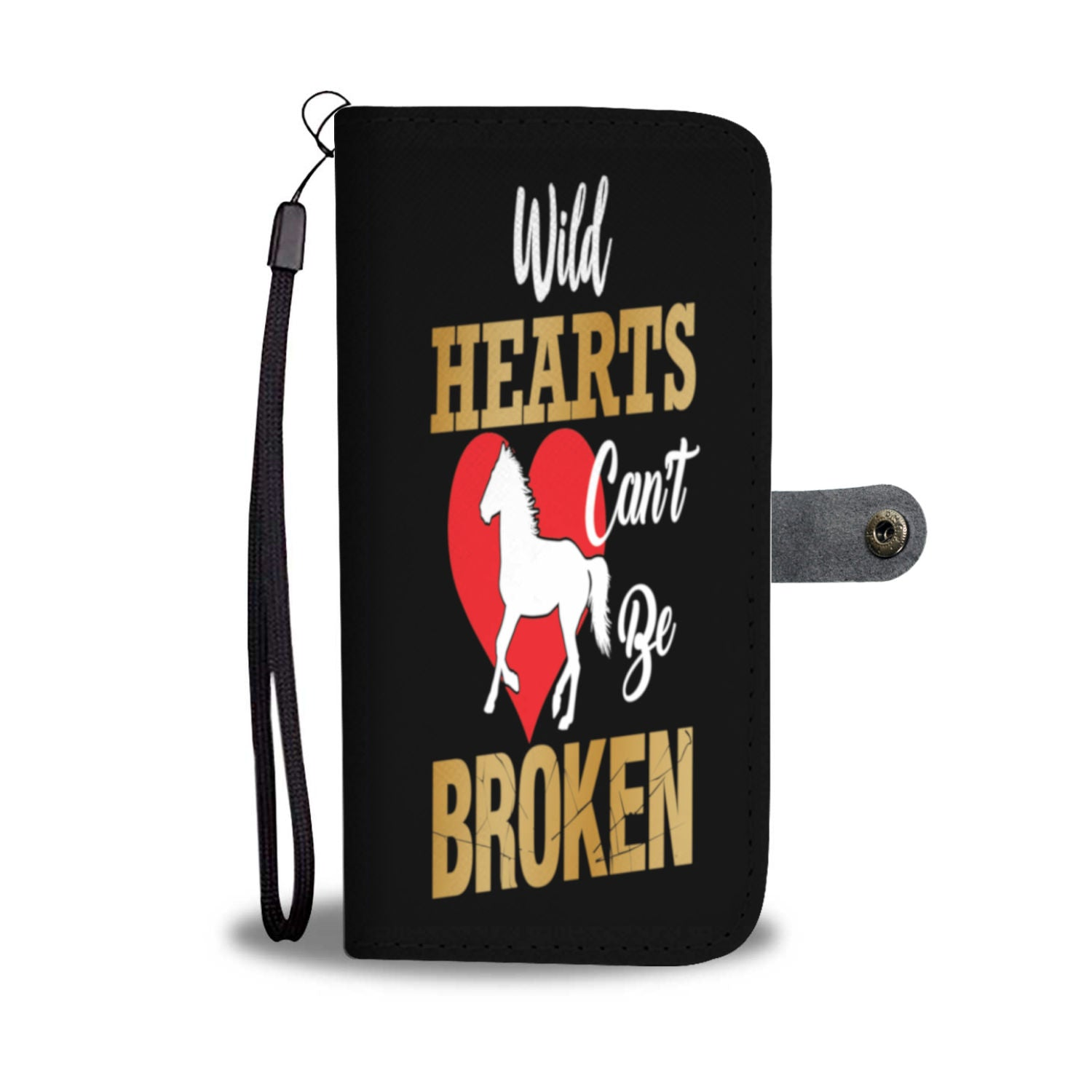 Wild Hearts Can't Be Broken Wallet Case iPhone/Samsung