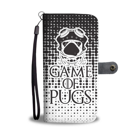 GAME OF PUGS Custom Phone Wallet Case