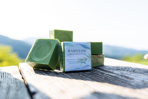 Handmade Laurel Oil Babylon Soap