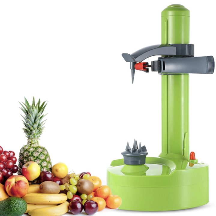 Electric Automatic Peeler Potato Fruit Apple Orange Veg Peeling Machine +3 Blade