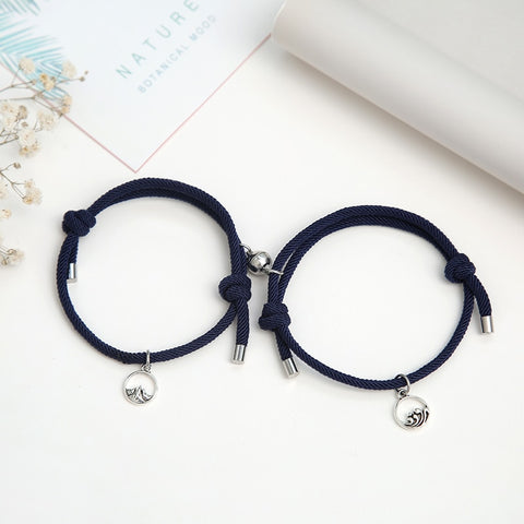 2Pcs/set Magnetic Couple Bracelet Men/Women