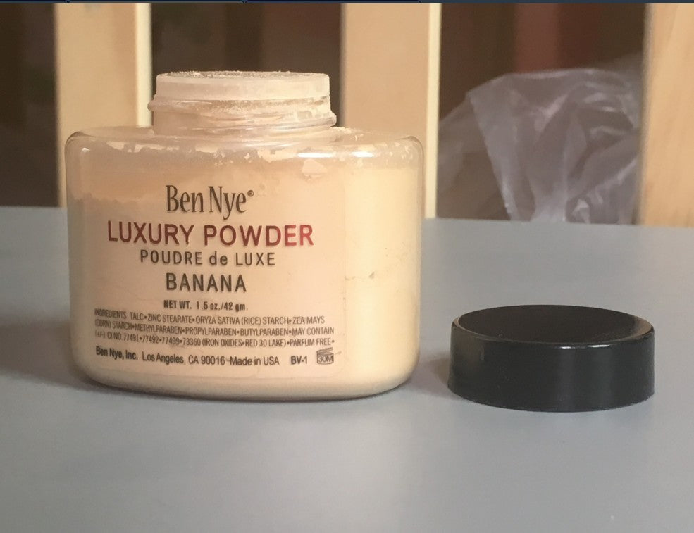 Face Powder Loose Makeup By Ben Nye Luxury Banana Full Size Sealed 42g & 85g