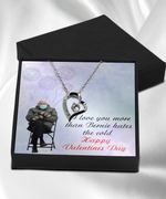 Fun Bernie Sanders Meme Valentine's Day Necklace