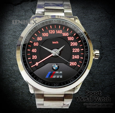 BMW M3 Speedometer Sport Metal Watch