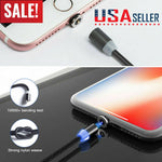 Dreamcable™ 3in1  Cell Phone IOS Micro USB Type C  Magnetic Charger Cable