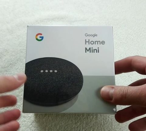Google Home Mini - Smart Speaker with Google Assistant